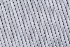 Железная предпосылка веревочки Стоковая Фотография