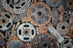 Железная предпосылка Стоковая Фотография RF