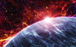 Железная планета Стоковая Фотография