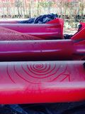 Железная спираль Стоковая Фотография RF