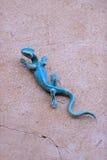 Железная ящерица Стоковое Фото