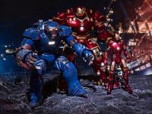 Железное hulkbuster Игоря человека 3 стоковые фотографии rf