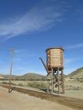 Железнодорожная водонапорная башня Стоковые Изображения