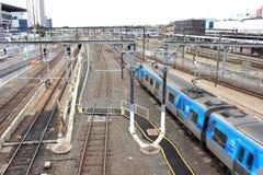 Железнодорожная инфраструктура Стоковые Фото