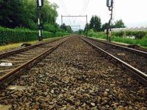 Железнодорожная сеть Стоковое Изображение RF