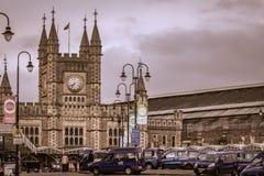 Железнодорожная станция Бристоля Стоковое Фото