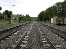 Железнодорожная станция Soirac Стоковые Фотографии RF