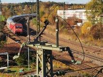 Железнодорожное электричество стоковые изображения