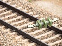 Железнодорожное электричество стоковое фото