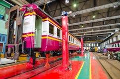 Железнодорожные обслуживание и фабрика внутрь Стоковое Фото