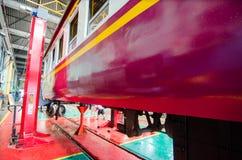 Железнодорожные обслуживание и фабрика внутрь Стоковая Фотография