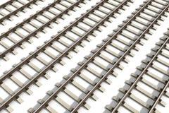 Железнодорожные пути иллюстрация вектора