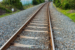 Железнодорожные пути стоковое фото