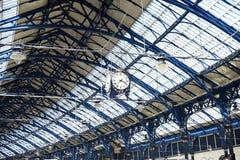 Железнодорожные часы Стоковое Фото