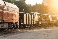 Железнодорожные экипажи Стоковое Изображение RF