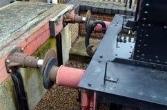 Железнодорожный буфер Стоковые Фотографии RF
