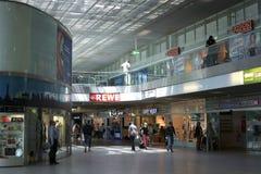 Железнодорожный вокзал Берлина восточный Стоковые Изображения RF