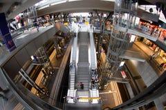 Железнодорожный вокзал Берлин, Германия Стоковое фото RF
