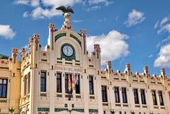 Железнодорожный вокзал Валенсии Стоковое Фото