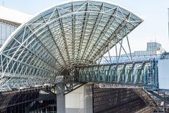 Железнодорожный вокзал Киото Стоковая Фотография RF