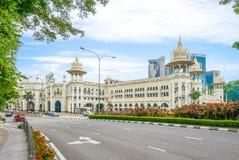 Железнодорожный вокзал Куалаа-Лумпур в Куалае-Лумпур Стоковая Фотография