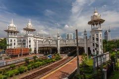 Железнодорожный вокзал Куалаа-Лумпур старый Стоковое фото RF