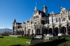 Железнодорожный вокзал на Данидине, Новой Зеландии Стоковая Фотография RF