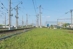 железнодорожный вокзал Стоковые Фото