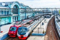 Железнодорожный вокзал Belorusskaya Стоковые Фото