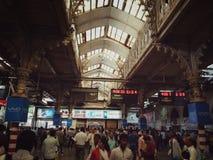 Железнодорожный вокзал Cst Стоковое Изображение RF