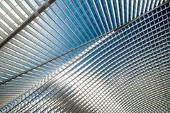 Железнодорожный вокзал Guillemins в Liege, Бельгии Стоковые Фотографии RF