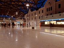 Железнодорожный вокзал Hala Лодза Fabryczna стоковая фотография