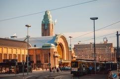 железнодорожный вокзал helsinki Финляндия Стоковые Фото