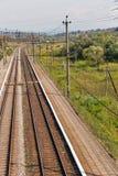 Железнодорожный вокзал Karpaty, Украина Стоковые Фотографии RF