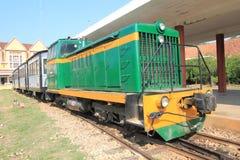 Железнодорожный вокзал Lat Da Стоковое Изображение