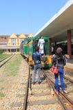 Железнодорожный вокзал Lat Da Стоковые Фото