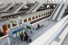 железнодорожный вокзал liege guillemins Стоковые Изображения RF