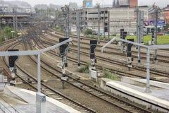 железнодорожный вокзал liege guillemins Стоковые Фотографии RF