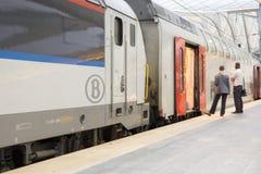 железнодорожный вокзал liege guillemins Стоковое Изображение RF