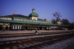 Железнодорожный вокзал Lushun стоковая фотография