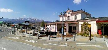 Железнодорожный вокзал Nikko Стоковое фото RF