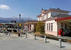 Железнодорожный вокзал Nikko Стоковое Изображение