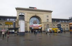 Железнодорожный вокзал Speyer, Германия Стоковое Изображение