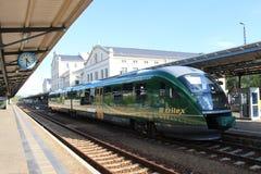 Железнодорожный вокзал Zittau Стоковые Фотографии RF