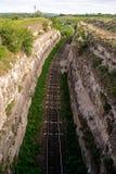Железнодорожный гнездо Стоковые Изображения