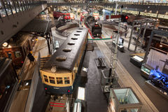 Железнодорожный музей в Японии Стоковая Фотография RF
