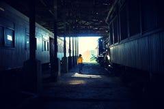 Железнодорожный музей Стоковые Фото
