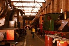 Железнодорожный музей Стоковое Изображение RF