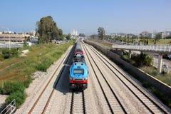 железнодорожный поезд Стоковое Фото