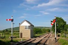 Железнодорожный путь Стоковое фото RF